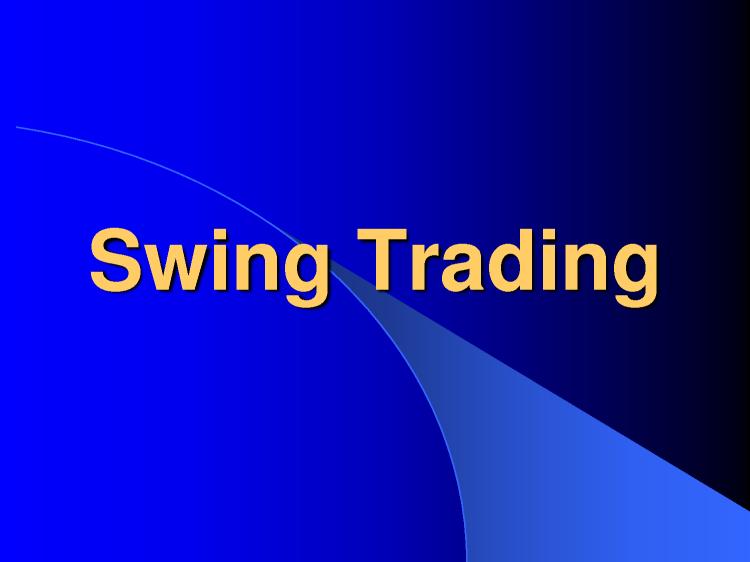 Forex-Swing-trading